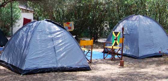 Camping Amorgos Rent Tent
