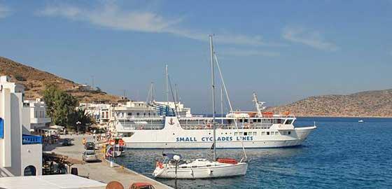 Port-Katapola-Amorgos-Transfer-Camping